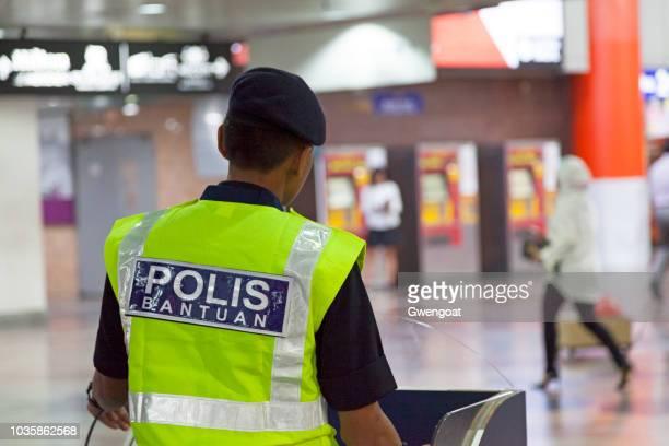 Policeman in KL Sentral