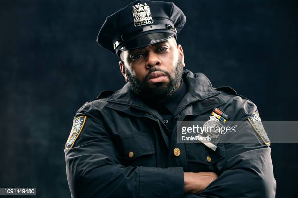 policeman - new york city police department stock pictures, royalty-free photos & images