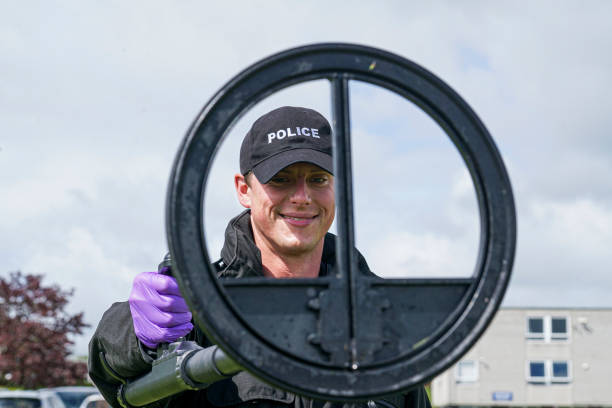 GBR: Devon And Cornwall Police Demonstrate Their Skills For Policing The G7 Summit