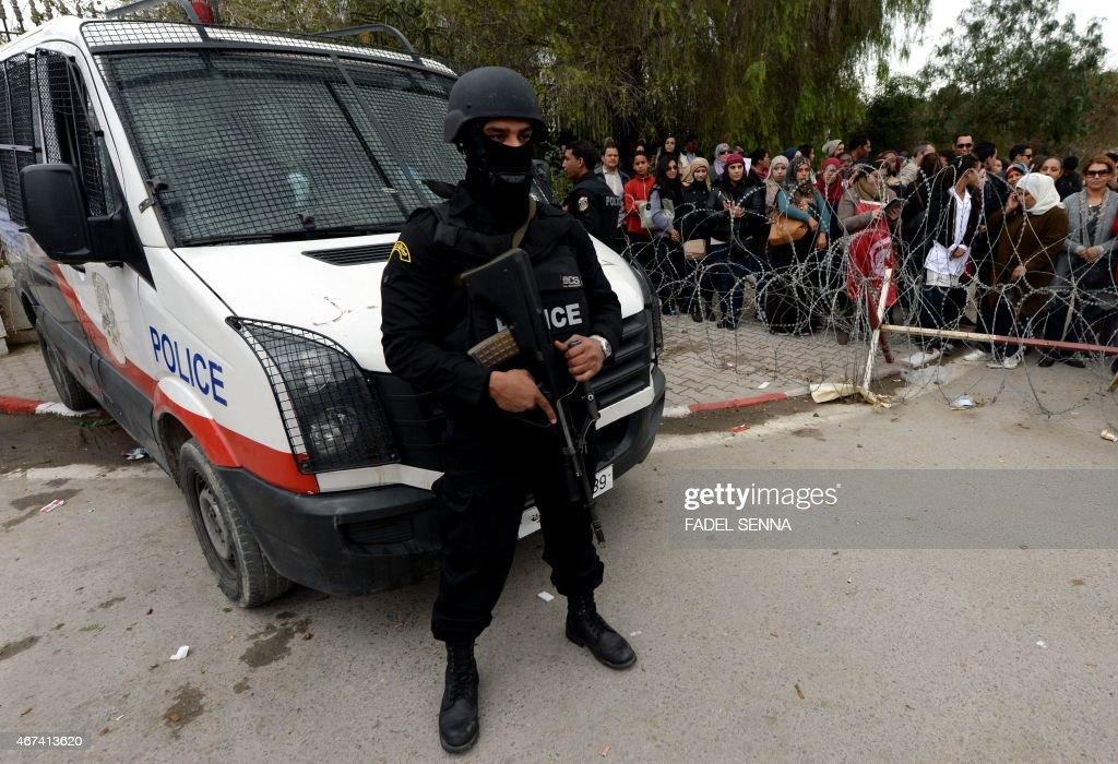 TUNISIA-ATTACKS-TOURISM-DEMO : News Photo