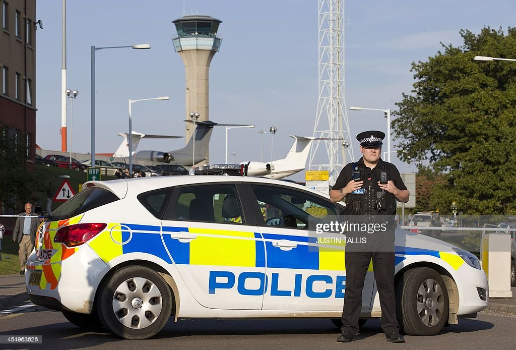 BRITAIN-AVIATION-SECURITY-INCIDENT : News Photo