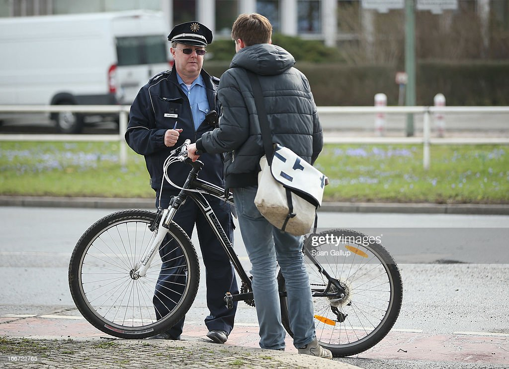 Berlin Police Launch City-Wide Speed Traps : News Photo
