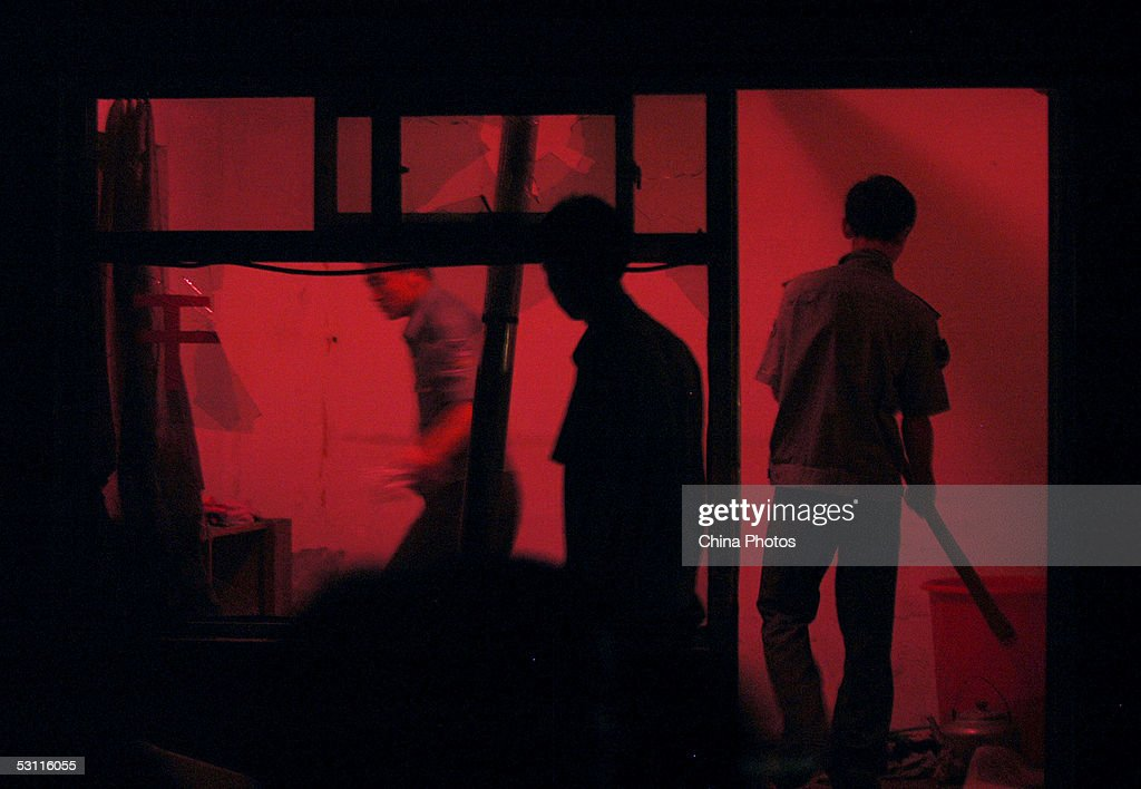 Police Smash Hairdressing Saloons Dealing With Prostitution In Beijing : News Photo