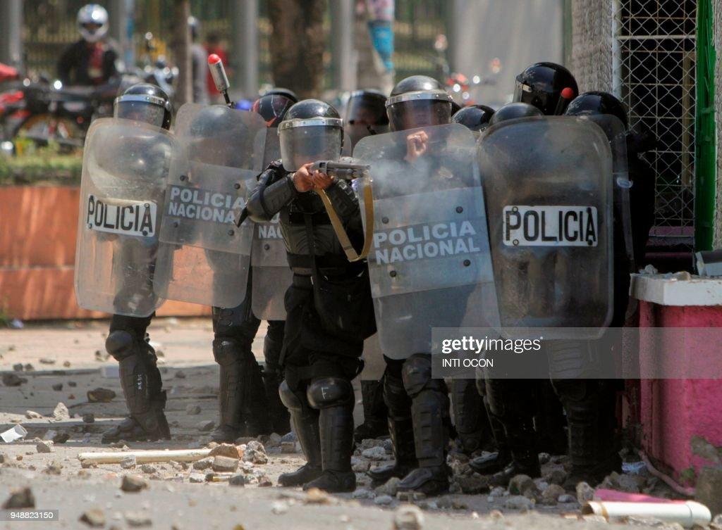 NICARAGUA-STUDENTS-PROTEST : News Photo