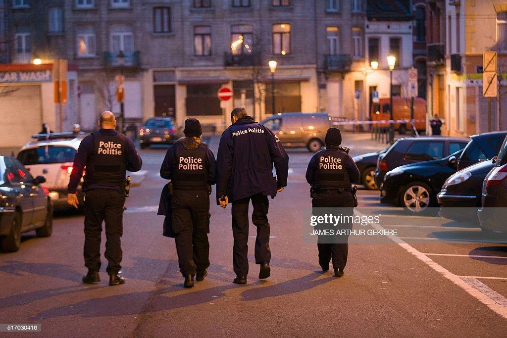 Photographer-BELGIUM-ATTACKS : News Photo