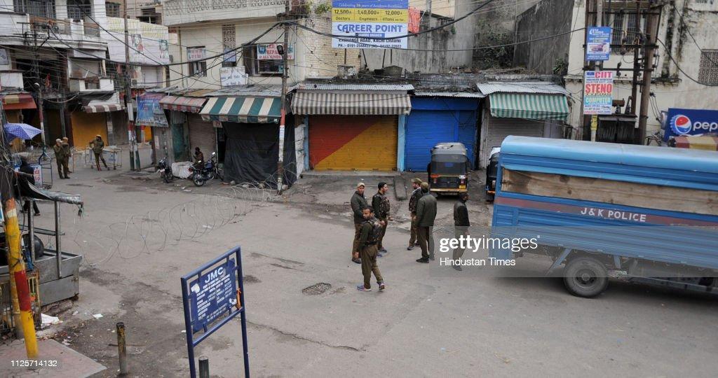 IND: Curfew In Jammu
