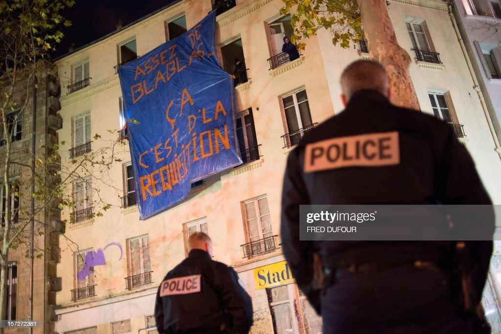 FRANCE-POVERTY-HOUSING-SQUAT : News Photo