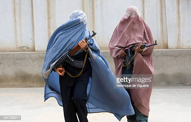Policewomen from a special unit lead by Officer Malalai Kakar in Kandahar Afghanistan Officer Malalai Kakar and a mother of six children set up a...