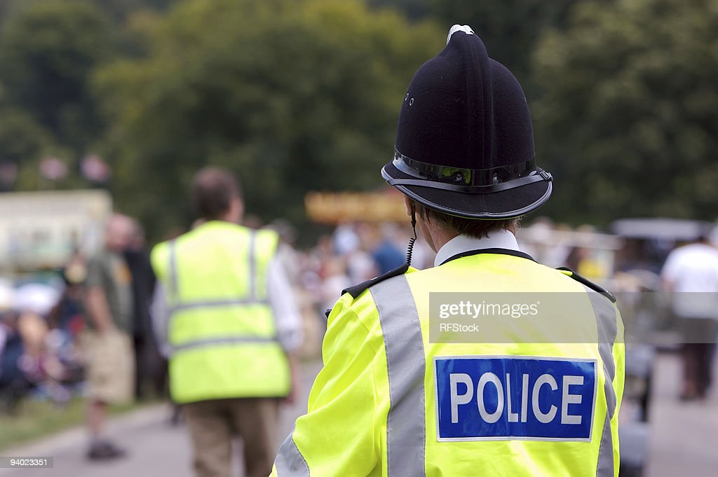 Policing the Summer Fair : Stock Photo