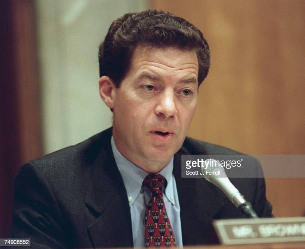 IRAQNear Eastern and South Asian Affairs Subcommittee Chairman Sam Brownback RKan during a hearing on the conduct and consequences of US foreign...