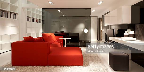 Poliform Brompton Road London Sw3 United Kingdom Architect Bestetti Associates Poliform Showroom Bestetti Associates London View Of Living Room...
