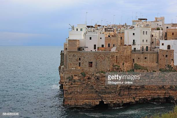 Polignano a Mare Old Town by the sea Apulia Italy