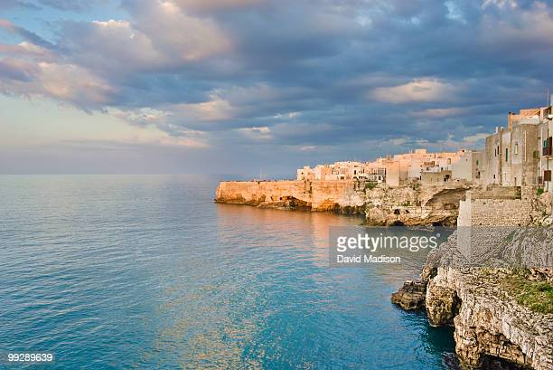 Polignano a Mare on the Adriatic Sea.