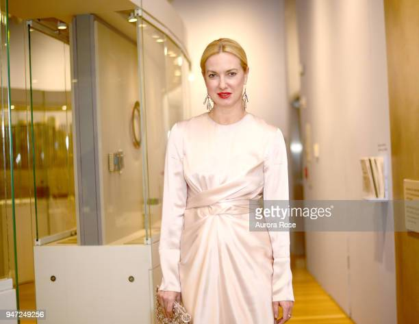 Polina Proshkina Attends LOOT MAD About Jewelry at The Museum of Arts and Design on April 16 2018 in New York City