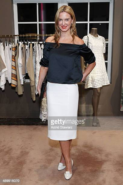 Polina Proshkina attends Marc Jacobs and Vanity Fair Cocktails at The Webster Miami at The Webster on December 3 2014 in Miami Florida
