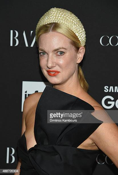 Polina Proshkina attends the 2015 Harper's BAZAAR ICONS Event at The Plaza Hotel on September 16 2015 in New York City