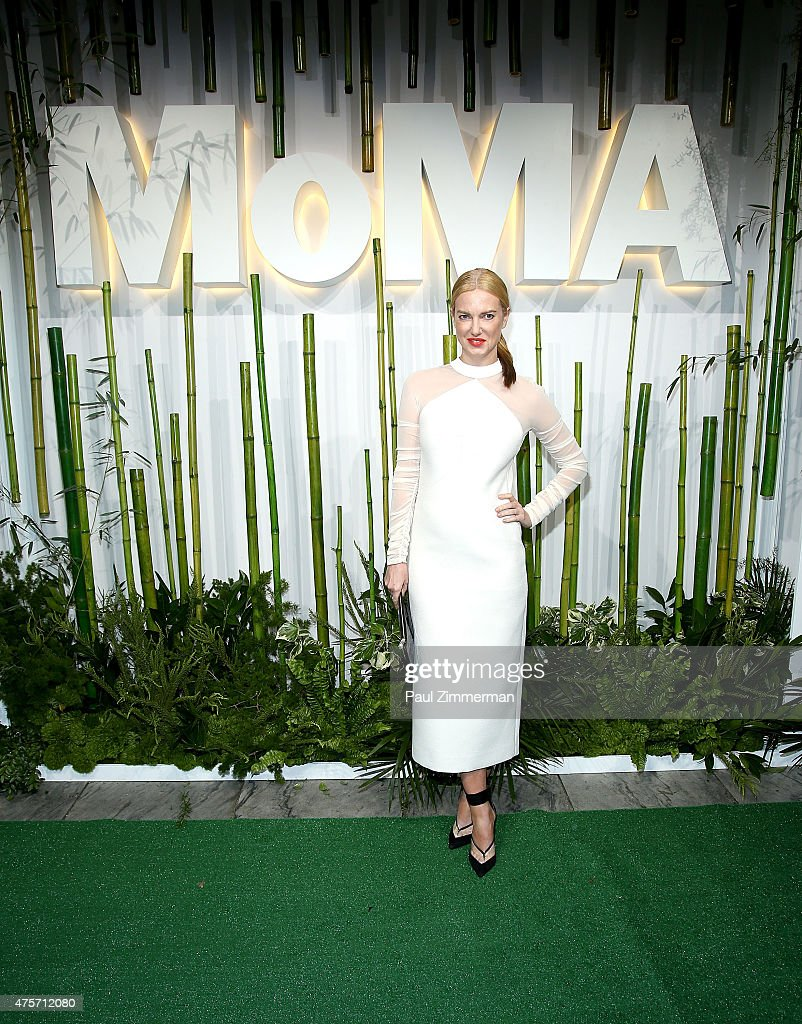 Polina Proshkina attends the 2015 Museum of Modern Art Party In The Garden and special salute to David Rockefeller on his 100th Birthday at Museum of Modern Art on June 2, 2015 in New York City.