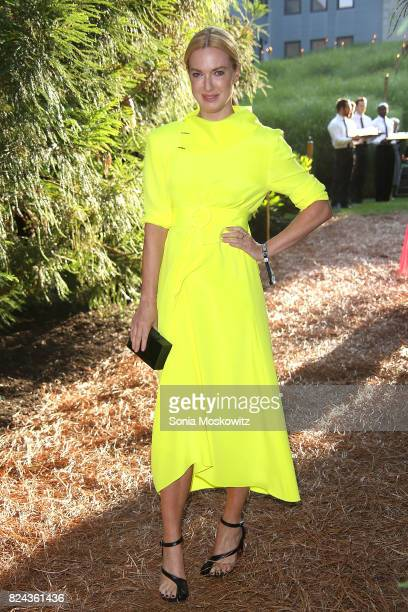 Polina Proshkina attends the 24th Annual Watermill Center Summer Benefit and Auction at The Watermill Center on July 29 2017 in Water Mill New York