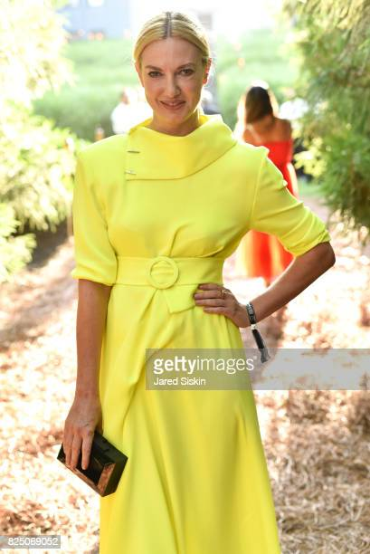 Polina Proshkina attends The 24th Annual Watermill Center Summer Benefit Auction at The Watermill Center on July 29 2017 in Water Mill New York