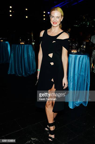 Polina Proshkina attends the 7th Annual amfAR Inspiration Gala at Skylight at Moynihan Station on June 9 2016 in New York City