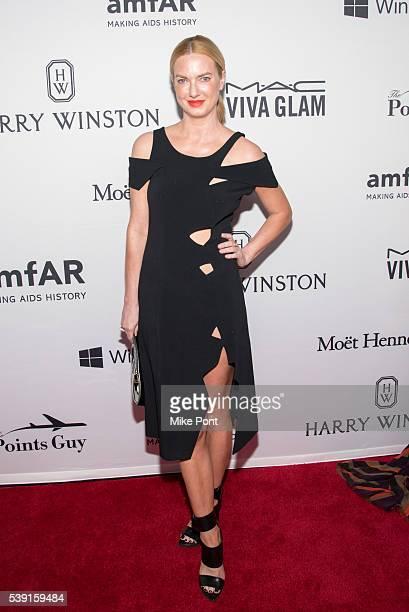 Polina Proshkina attends the 7th Annual amfAR Inspiration Gala New York at Skylight at Moynihan Station on June 9 2016 in New York City