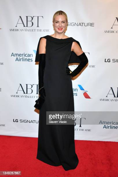 Polina Proshkina attends the American Ballet Theatre Fall Gala at David H. Koch Theater at Lincoln Center on October 26, 2021 in New York City.