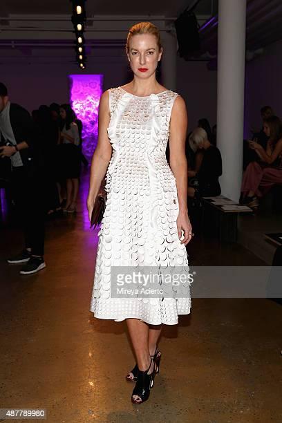 Polina Proshkina attends the Cushnie Et Ochs fashion show during Spring 2016 MADE Fashion Week at Milk Studios on September 11 2015 in New York City