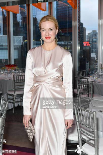 Polina Proshkina attends The Museum of Arts and Design Presents LOOT MAD About Jewelry on April 16 2018 at the Museum Of Arts And Design in New York...