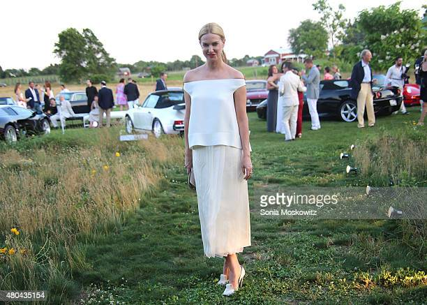 Polina Proshkina attends the Parrish Art Museum Midsummer party on July 11 2015 in Southampton New York
