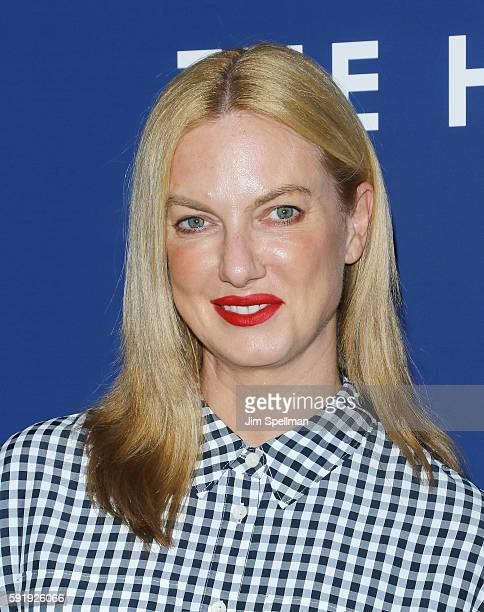 Polina Proshkina attends the The Hollars New York screening at Cinepolis Chelsea on August 18 2016 in New York City