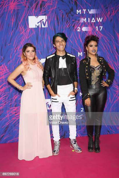 Polinesios attend the MTV MIAW Awards 2017 at Palacio de Los Deportes on June 3 2017 in Mexico City Mexico