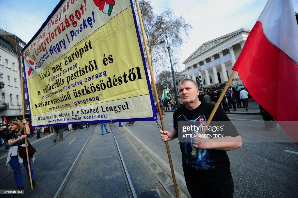 HUNGARY-NATIONAL DAY : News Photo