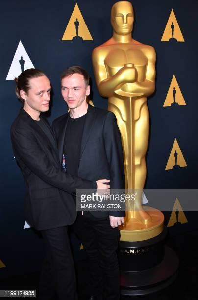 Polish actor Bartosz Bielenia and Polish director Jan Komasa who directed the film Corpus Christi attend the Oscar Week International Feature Film...
