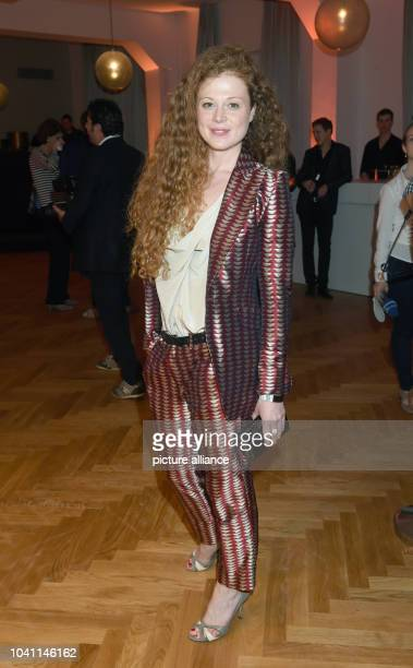 Polish actress Anja Antonowicz poses during the premier of the film 'Bornholmer Straße' at Filmfest Muenchen international Munich Film Festival in...
