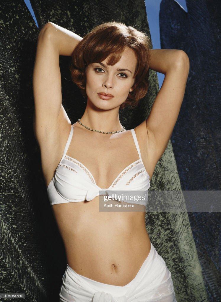 Polish actress Izabella Scorupco stars as computer programmer Natalya Simonova in the James Bond film 'GoldenEye', 1995.