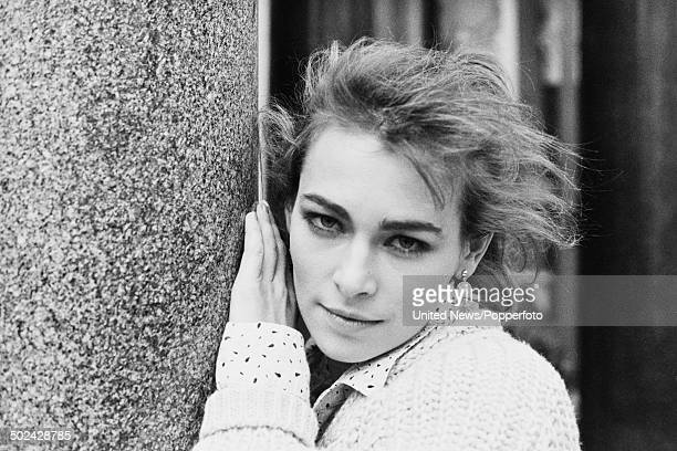 Polish actress Joanna Pacula pictured in London on 28th March 1985