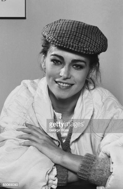 Polish actress Joanna Pacula poses during a 1987 Los Angeles California portrait session Pacula starred in the 1983 film Gorky Park and the 1987 TV...