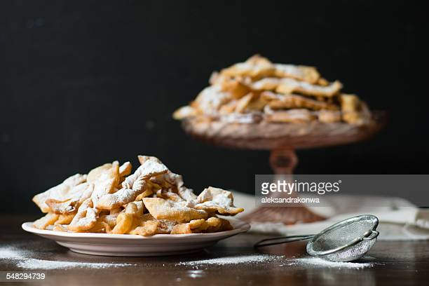 Polish Angel wing cookies