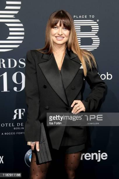 Polish athlete and influencer Anna Lewandowska at the Place To B Awards at AxelSpringerHaus on November 16 2019 in Berlin Germany