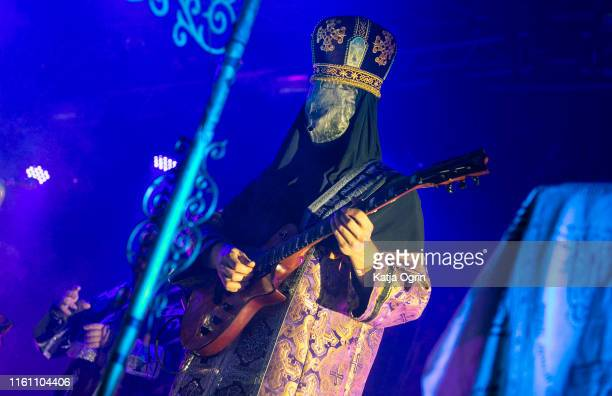 Polish black metal band Batushka performs on stage during Bloodstock Festival 2019 at Catton Hall on August 11, 2019 in Burton Upon Trent, England.