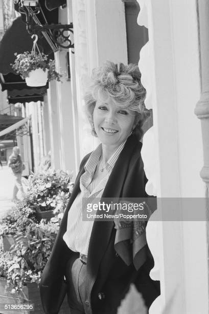 Polish born actress Ingrid Pitt in London on 14th May 1986