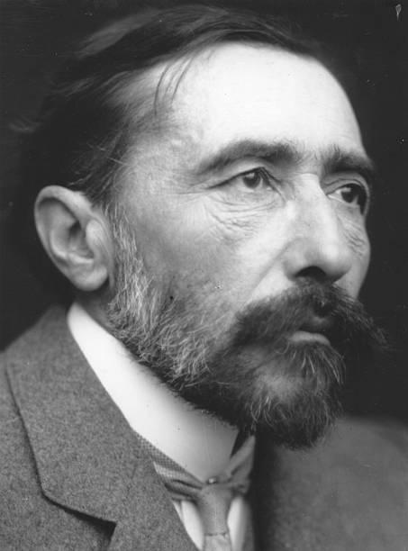 Polish born British novelist Joseph Conrad .