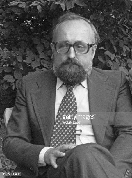 Polish composer and conductor Krzysztof Penderecki at the Birthplace of Frederic Chopin Museum in Zelazowa Wola
