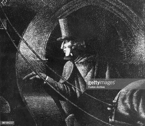 Polish composer and pianist Frederic Chopin leaves a concert at the Guildhall in London 16th November 1848 This was to be his last public performance...
