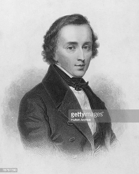 Polish composer Frederic Chopin circa 1835