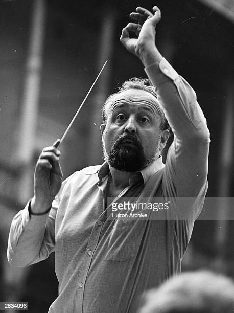 Polish composer Krzysztof Penderecki conducting Original Publication People Disc HJ0389