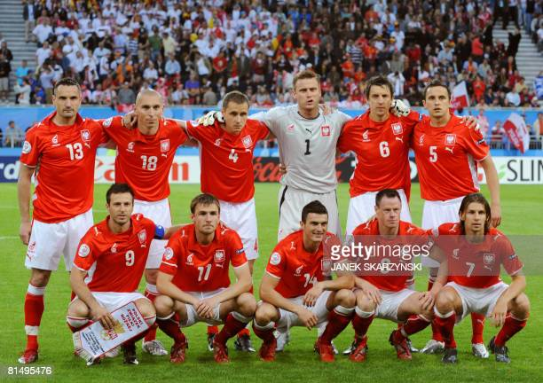 Polish defender Marcin Wasilewski Polish midfielder Mariusz Lewandowski Polish defender Pawel Golanski Polish goalkeeper Artur Boruc Polish defender...