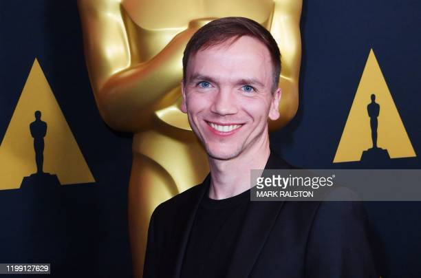 Polish director Jan Komasa who directed the film Corpus Christi attends the Oscar Week International Feature Film reception featuring the 2020...