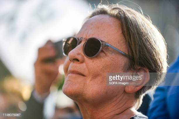 Polish film director Agnieszka Holland seen during Freedom and Solidarity Days in Gdansk Gdansk in the 1980s became the birthplace of the Solidarity...