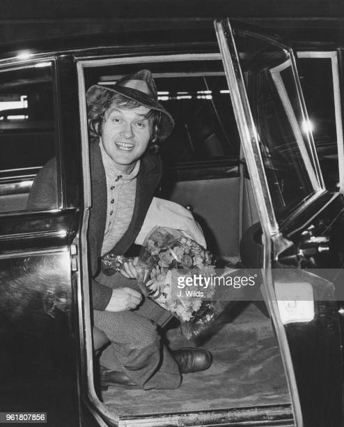 Polish film director Jerzy Skolimowski arrives at London Airport from Warsaw 23rd March 1971 He is in the UK in connection with the release of his...